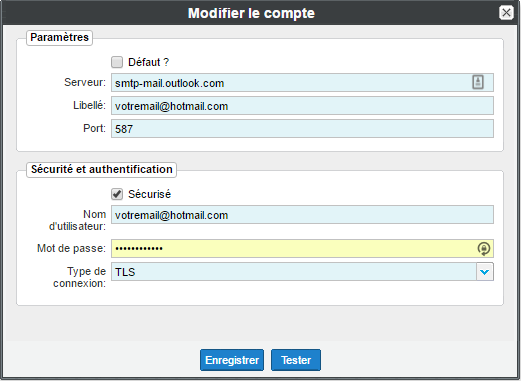 config hotmail 4