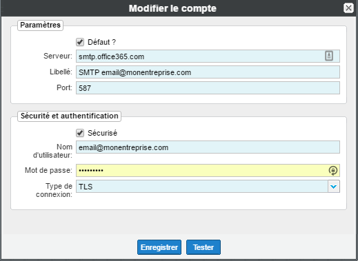 config outlook 4